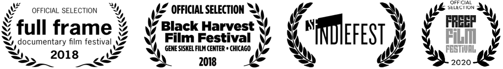 Laurels for the Full Frame Film Festival, Black Harvest Film Festival, SF IndieFest, and the Freep Film Festival